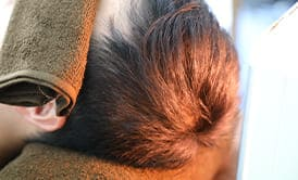 ヘアサイクルを整え髪の成長期を長くする