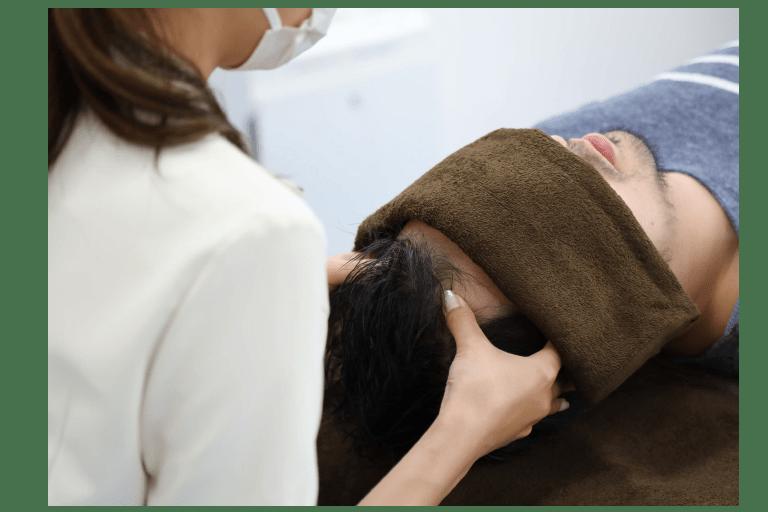 頭皮の血管を拡張し髪に栄養が届きやすい環境づくり