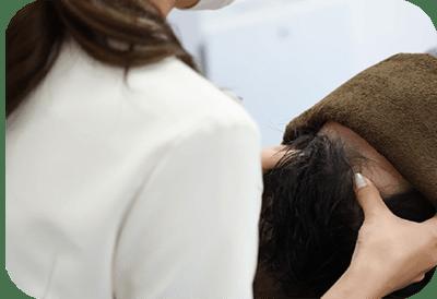 血流改善発毛マッサージ